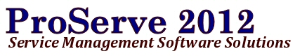 ProServe 2012 - Pest Control Service Management Software